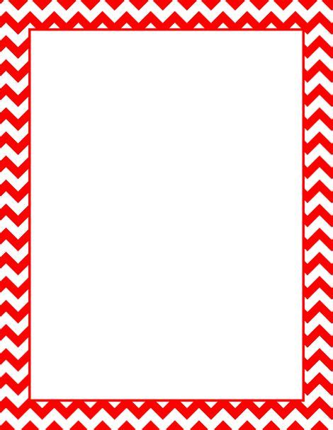 Printable Red Chevron Border Free Gif Jpg Pdf And Png Chevron Border Template