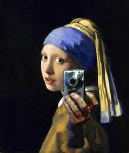 6x6 Rug Selfie With A Pearl Earring Johannes Vermeer