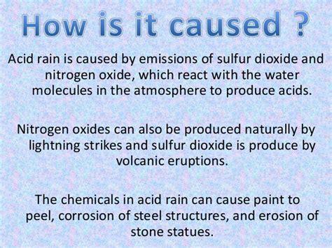 Acid Rain Ppt Ppt Of Acid