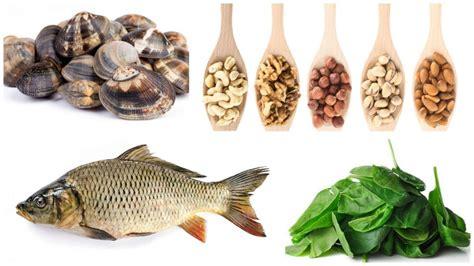 alimentos bajo en hierro alimentos ricos en hierro para una dieta saludable