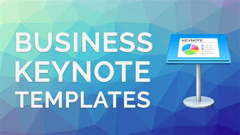 Best 4 Business Keynote Templates Premium Presentation Themes Youtube Keynote Business Templates