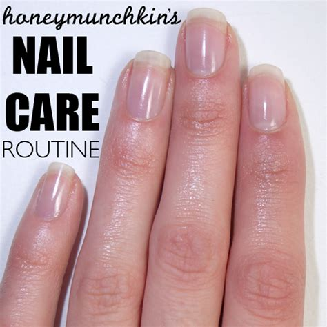 Nail Care by My Nail Care Routine Honeymunchkin