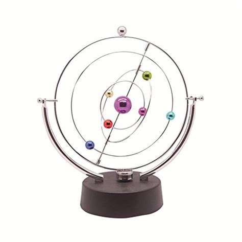 perpetual motion desk toys sciencegeek kinetic art asteroid electronic perpetual