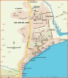 San Jose Del Cabo Map cabo san lucas maps cabo san lucas luxury mexico