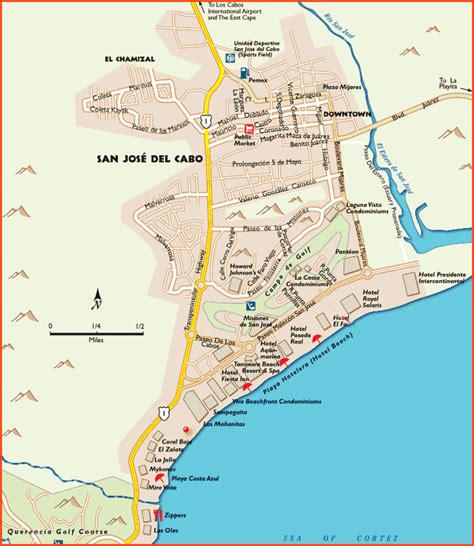 san jose mexico hotel map cabo san lucas maps cabo san lucas luxury mexico