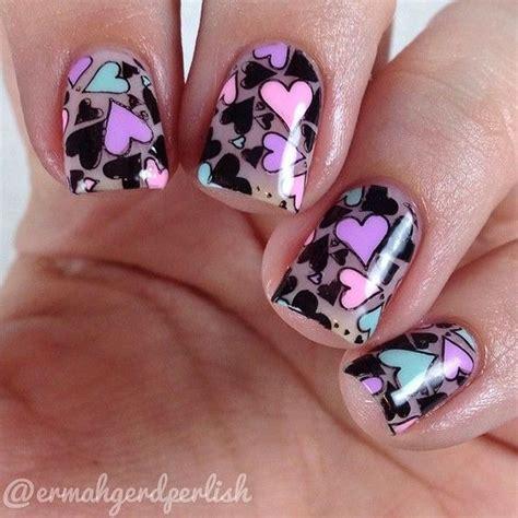 imagenes de uñas decoradas san valentin 49 im 225 genes de u 241 as decoradas para san valent 237 n todo