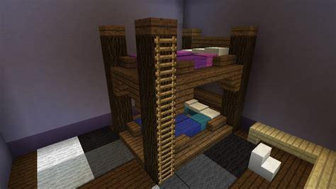 Faire Un Lit by Comment Faire Un Lit Superpos 233 Minecraft