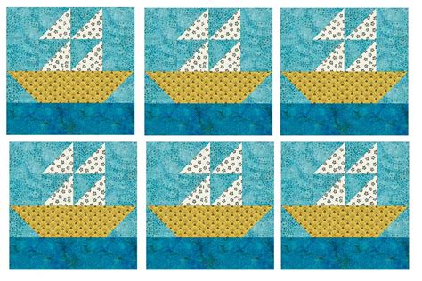 sailboat quilt block patterns how to quilt block a 12 quot sailboat