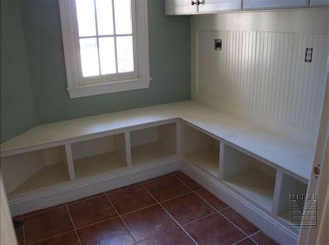 built in bench mudroom built ins mud room cubbies
