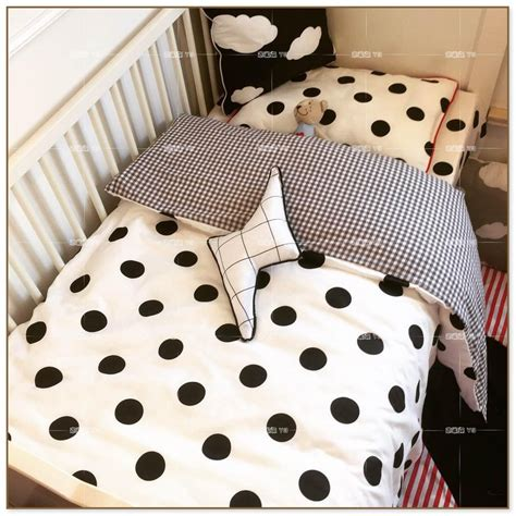 black and white polka dot comforter pop up trundle bed twin to king