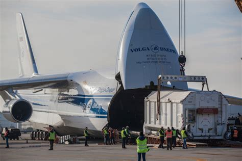 volga dnepr aids mission  find life  mars air cargo week