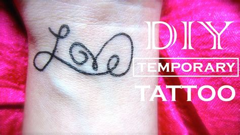 how to make a fake tattoo look real how to make a that looks real instead of a