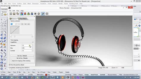 tutorial video rhino modeling headphones in rhino 5 for windows on vimeo