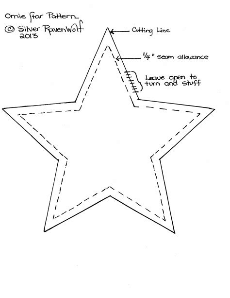 printable primitive star pattern primitive star pattern large