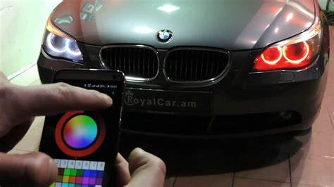 color changing led headlights bmw color changing headlights