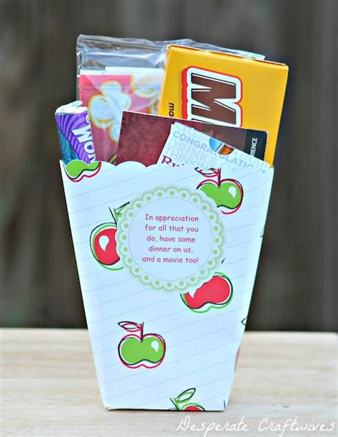 Dinner Gift Card Ideas - teacher appreciation dinner a movie crafty ideas projects and gifts pinterest