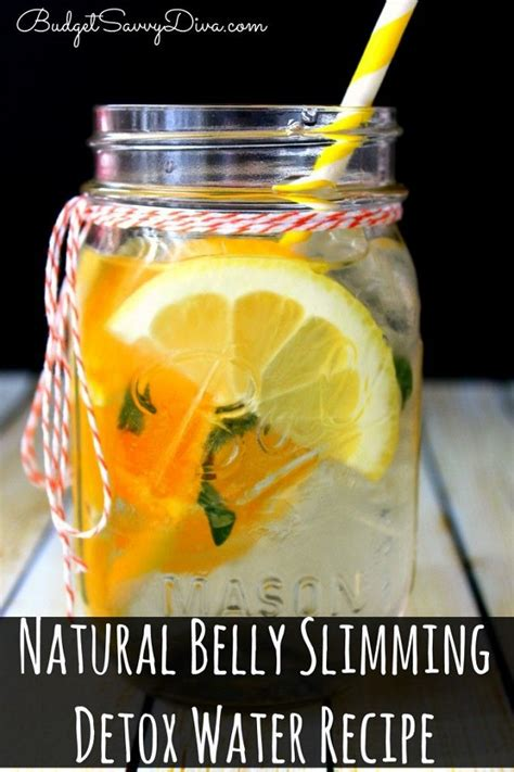 The Best Detox Water For Belly by Belly Slimming Detox Water Recipe