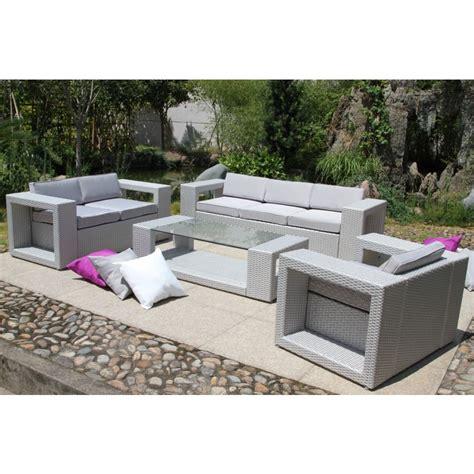 salon de jardin garden salon de jardin avec banquette dcb garden dcb garden chez mr bricolage