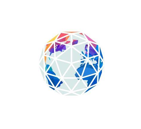 Cool Treehouses Geometric Globe Geometric Pattern Pinterest Graphics