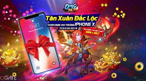 mod game omg 3q omg 3q tung sự kiện l 236 x 236 iphone x cho game thủ nh 226 n dịp