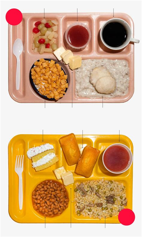 pr馗ision cuisine what s in a prison meal the marshall project