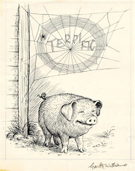 garth williams gorgeous original illustrations charlotte flavorwire