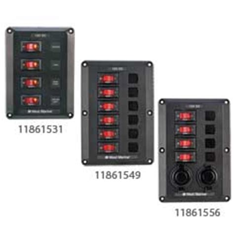 connecting boat switch panel west marine dc electrical panels west marine