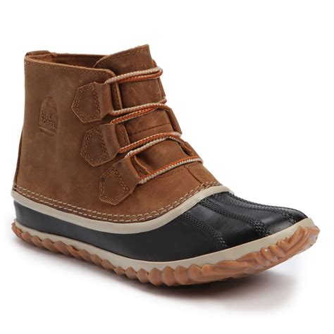 womans sorel boots sorel out n about leather boots s evo