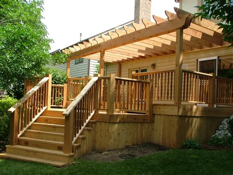 Deck Pergola Design All Home Design Ideas Very Cool Pictures Of Pergolas On Decks