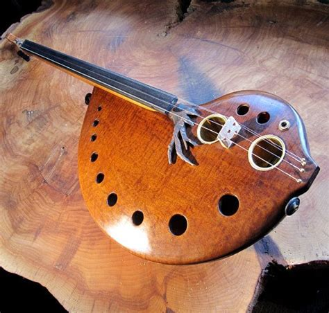 Handmade Musical Instrument - beautiful handmade instrument from etsy cool stuff on