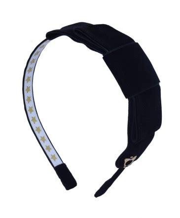 B56 Satin Twisted Flower Wide Headband Bandana Bunga Satin black velvet block sereni shentel