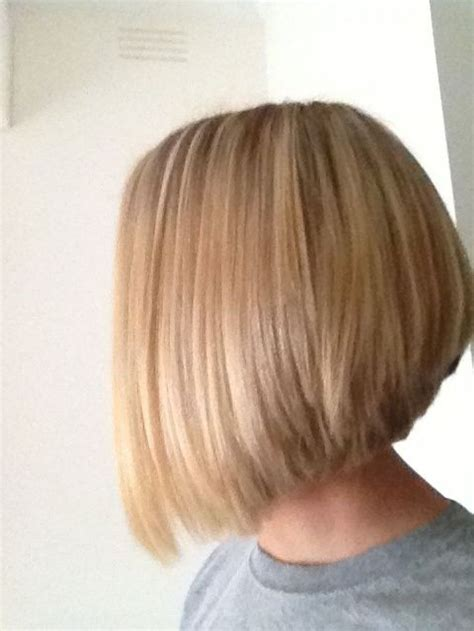 shorter back longer front bob hairstyle pictures short stacked bob haircut back view 4k wallpapers