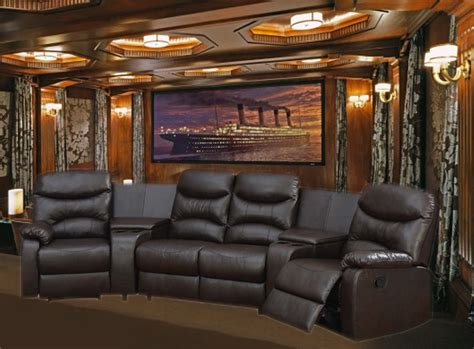 theatre seating for home trezzo theater seating 5 home theater seating in