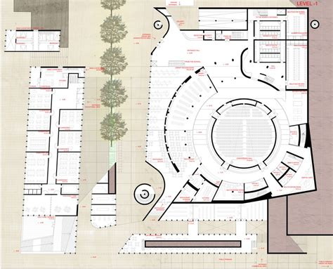 Floor Layout Plans grand mosque of prishtina kosovo building e architect