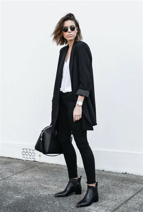 trendy womens outfit ideas  long blazers ohh