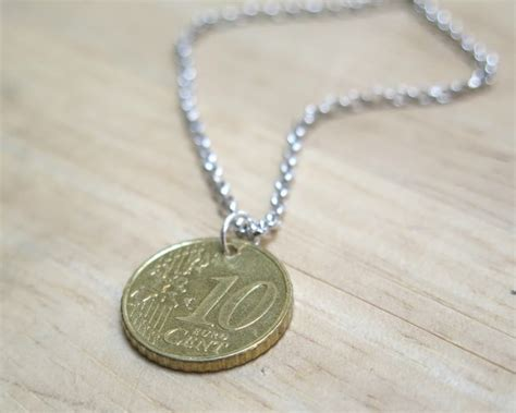 how to make coin jewelry how to make a coin into a pendant 5 steps with pictures