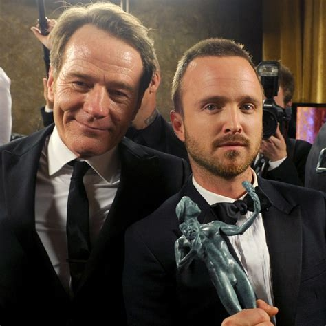 bryan cranston son aaron paul is like a son to bryan cranston
