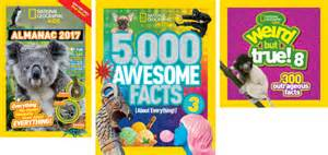 5000 Fantastic Facts by National Geographic Giveaway Babycenter
