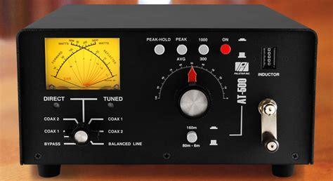 palstar at 500 600 watt pep antenna tuner for ham radio 767408327381 ebay