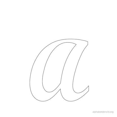 printable a z stencils alphabet stencils a printable stencils alphabet a