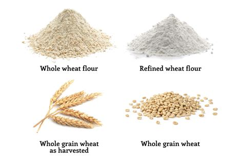 whole grains vs refined grains faq grains wheat flour and bread healthy grains institute