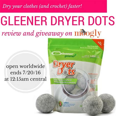 Laundry Pair A Day Giveaway by Gleener Dryer Dots Giveaway On Moogly Moogly