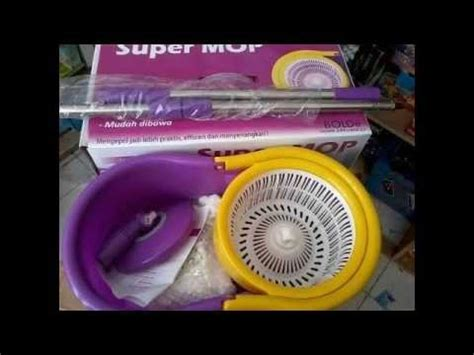 Mop Pembersih Lantai Press Spin Mop Without Foot Pedal Doovi