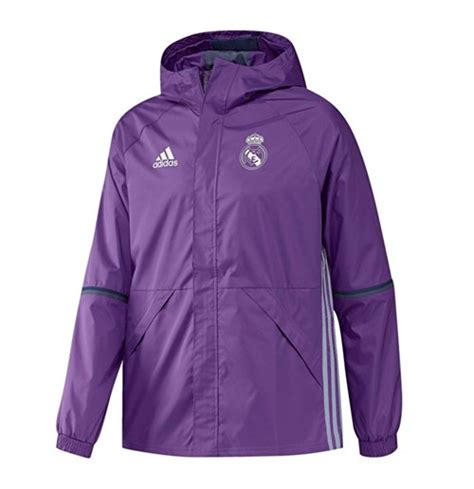 Parka Bola Real Madrid Army 2016 2017 real madrid adidas allweather jacket purple for only 163 69 06 at merchandisingplaza uk