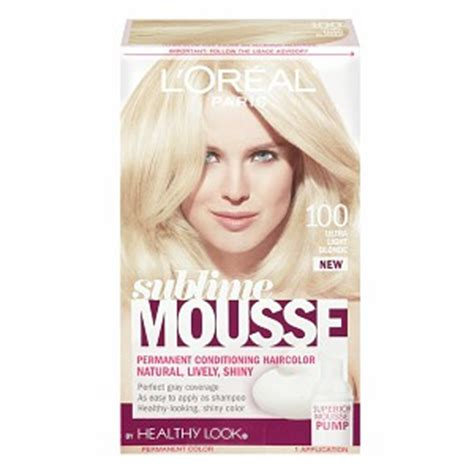 ultra light blonde hair color pictures sublime mousse 100 ultra light blonde haircolor wiki