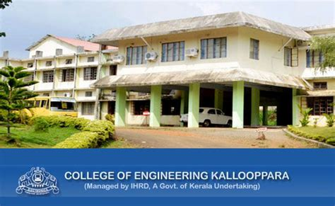 Mba Colleges In Pathanamthitta District by College Of Engineering Kallooppara Pathanamthitta