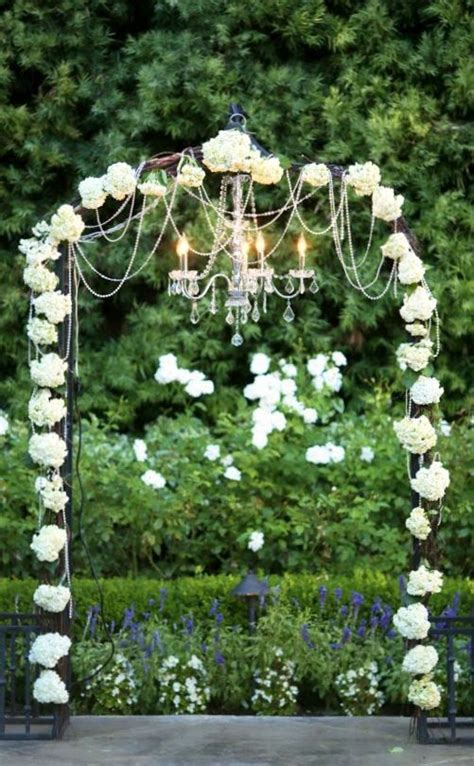 Wedding Arch Chandelier Memorable Wedding Wedding Arches With Flowers To Delight Any