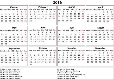 new year sts 2016 australia post 2016년 호주 달력 및 휴일 공휴일 여행팁 네이버 블로그