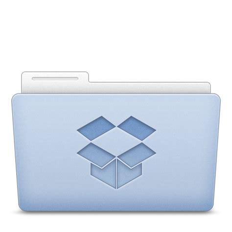 dropbox grey icon folder dropbox icon hycons icon theme softicons com