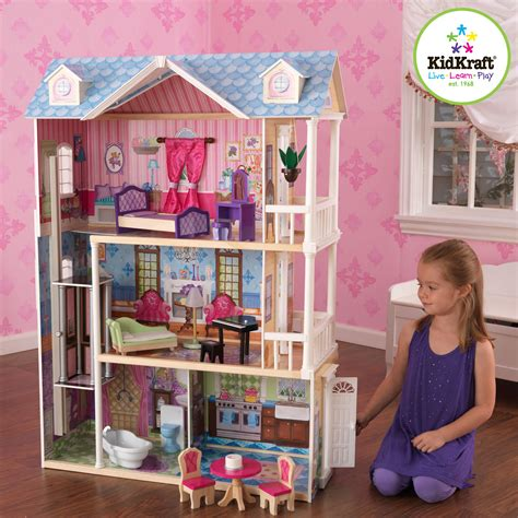 doll houses with furniture kidkraft my dreamy dollhouse by oj commerce 65823 139 92